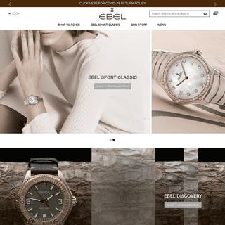 Ebel - Official Ebel Website - Fine Swiss Luxury Watches