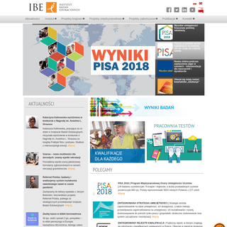 Instytut Badań Edukacyjnych - Strona główna