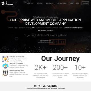 Enterprise Web & Mobile App Development Company - Magento, React Native, .Net Frameworks