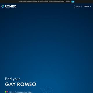 ROMEO - Gay dating - chat, meet, love