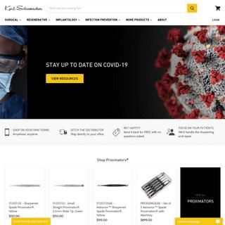 Karl Schumacher- Dental Instruments, Regenerative, Sutures, Burs