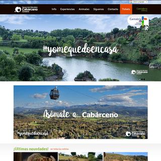 Parque de la Naturaleza de Cabárceno - Cantur - Cantabria - España - Inicio