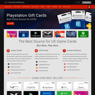 Game Cards Fast Email Delivery - Best Online Source for Gift Cards