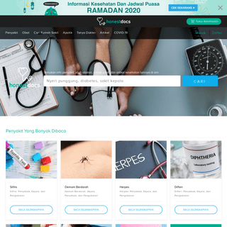HonestDocs- Info Kesehatan, Tanya Dokter, Pengiriman Obat - HonestDocs