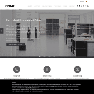 Home - Prime - Führende Full-Service Agentur mit Weitsicht- 360° Kommunikation.