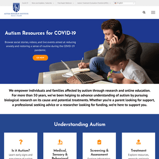 The Autism Research Institute - #1 Advocate for Autism Research - Home