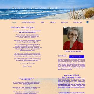 StarQuest Archangel Michael through Ronna Herman-Vezane