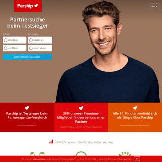 Partnersuche mit Parship.ch » Partnerbörse Nr. 1 in der Schweiz