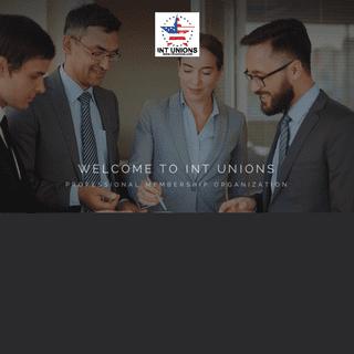 International Unions - Managers, Engineers, Psychologists, Doctors, Dentists, Nurses, Lawyers, Artis, athletes