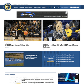 ArchiveBay.com - anonymouseagle.com - Anonymous Eagle, a Marquette Golden Eagles community