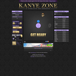 Don't let Kanye into his zone- Kanye Zone