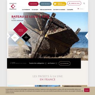 ArchiveBay.com - fondation-patrimoine.org - Fondation du patrimoine