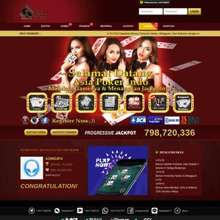 Asia Poker Online Indonesia - Daftar Judi Poker IDN Terpercaya