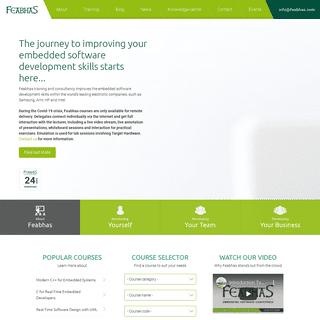 Homepage - Feabhas