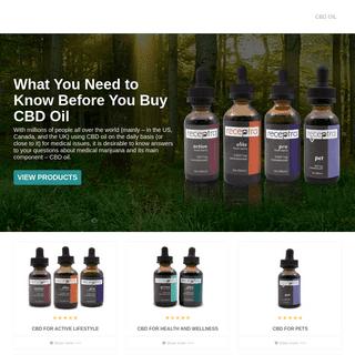 CBD Oil for Sale - How to Buy CBD - buycannabidioloil.life
