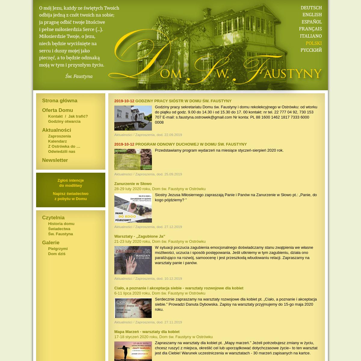 ArchiveBay.com - domfaustyny.pl - Dom Św. Faustyny