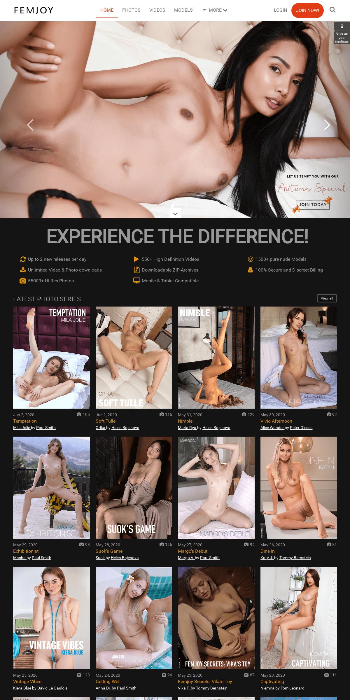 ArchiveBay.com - femjoy.com - FEMJOY - Pure Nude Art Female Photography And Videos - FEMJOY