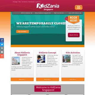 KidZania Indoor Theme Park - KidZania Singapore – A City Built for Kids!