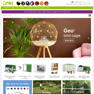 ArchiveBay.com - omlet.us - Beautifully Designed Pet Housing by Omlet