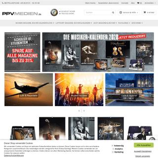 Onlineshop für Musiker, Bühne, Licht + Wohnen, Luftfahrt - Maga