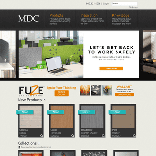 MDC - The Trusted Source for design solutions