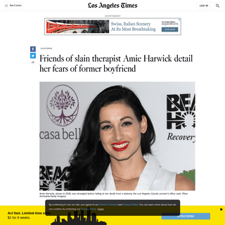 ArchiveBay.com - www.latimes.com/california/story/2020-02-23/friends-slain-therapist-detail-her-fears-former-boyfriend - Friends of Amie Harwick detail her fears of ex-boyfriend - Los Angeles Times