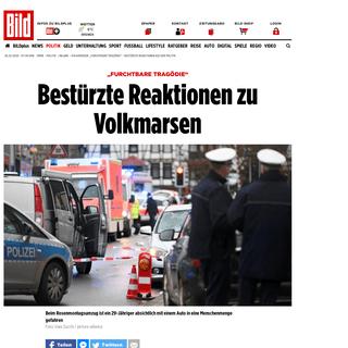 """Volkmarsen- """"Furchtbare Tragödie"""" – Bestürzte Reaktionen aus der Politik - Politik Inland - Bild.de"""