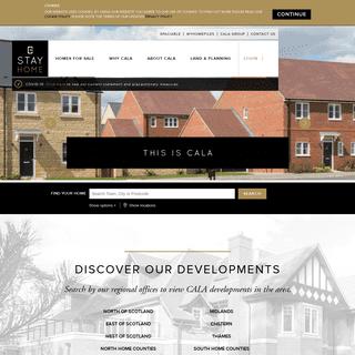 New Build Homes - Scotland, Midlands and South of England homes for sale - CALA Homes