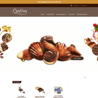 Guylian - Belgian Chocolates - SeaShells, Gift Boxes, Bars and Truffles