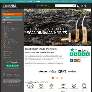 Scandinavian Knives, Puukko and Leuku Knives - Lamnia