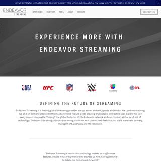 Endeavor Streaming