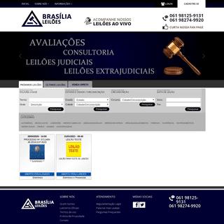 Brasilia Leilões - Leilões Judiciais e Extra-judiciais!!