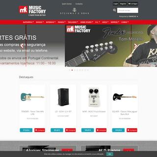 Music Factory - Loja de Instrumentos Musicais --