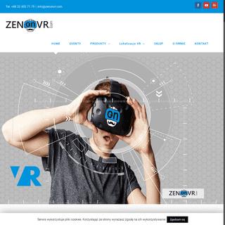 Wirtualna rzeczywistość wynajem - ZENonVR eventy VR