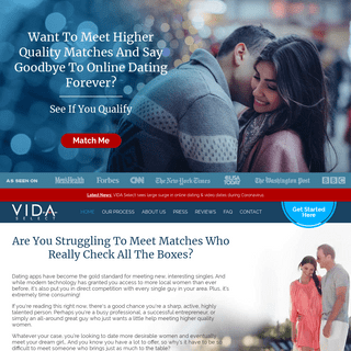 Done-For-You Online Dating Service & Profile Writing Help - VIDA Select