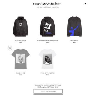XXXTentacion Official Store – XXXTENTACION Official Store
