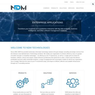 NDM Technologies