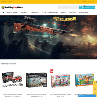 BuildingToyStore.com - The Store of the Building Block Toys.
