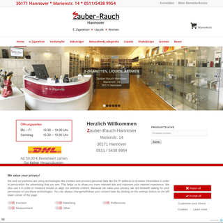 e-Zigaretten Hannover, Liquids, Aromen - Zauber-Rauch-Hannover › Zauber-Rauch-Hannover