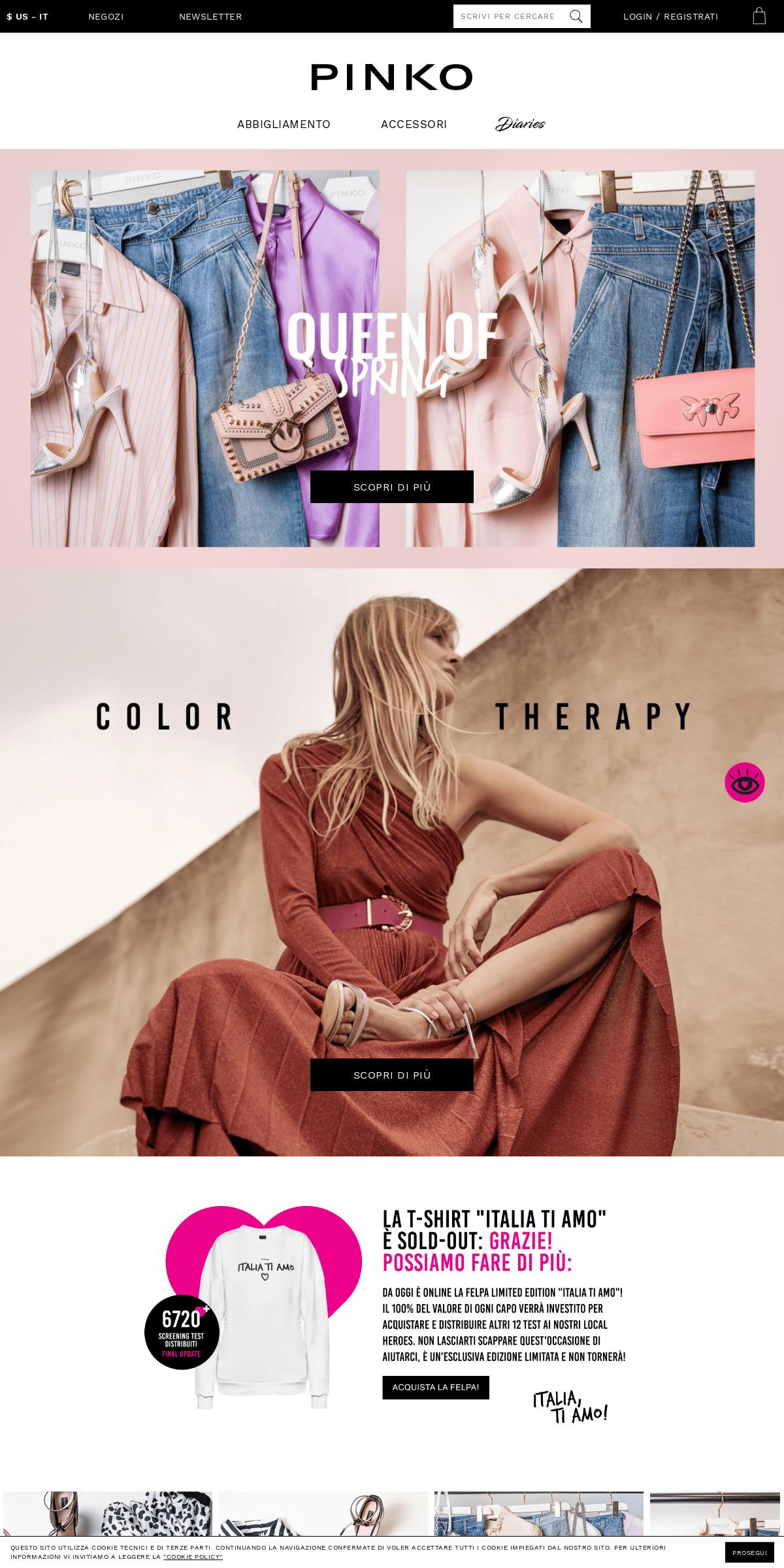 ArchiveBay.com - pinko.it - Abbigliamento, scarpe, borse e accessori moda donna - Pinko
