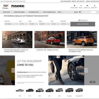 ArchiveBay.com - potamkinnyc.com - Welcome To Potamkin Cadillac of Manhattan - Cadillac Dealer In Manhattan