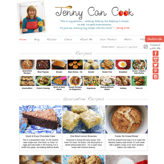 Jenny Can Cook – Quick, Easy, Healthy Recipes by Jenny Jones