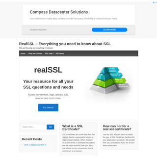 ArchiveBay.com - realssl.com - RealSSL – Everything you need to know about SSL – SSL and Security and everything in between