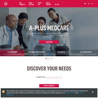 AIA Malaysia - Your Leading Insurance & Takaful Provider