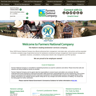 Farmers National Company - Farm Management, Real Estate Sales, Agricultural Services