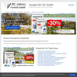 DesignCAD Gratis Download - DC Toolkit Online