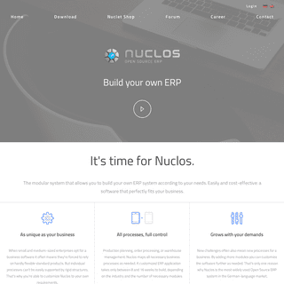 Nuclos - Open Source ERP - easily and cost-effective