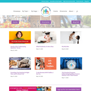 Triad Moms on Main - Parenting Tips, Local Events, Resources