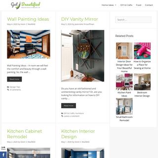 Get Beautified - Beautiful Home for Beautiful Life