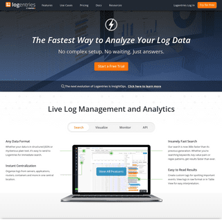 Log Management & Analysis Software Made Easy - Logentries